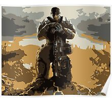 Marcus Fenix Gears of War 3 Poster