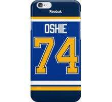 St. Louis Blues T.J. Oshie Jersey Back Phone Case iPhone Case/Skin