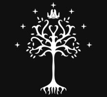 white tree of gondor by SameDifference