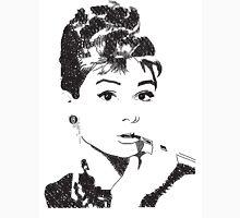 Audrey Hepburn Typography Unisex T-Shirt