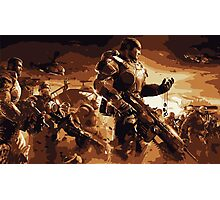Marcus Fenix Gears of War 2 Photographic Print