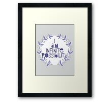 I am infinite possibility Framed Print