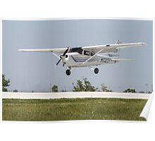 Cessna 172 Landing Poster