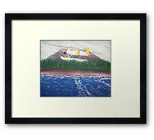 Sitka Puddle Jumper Framed Print