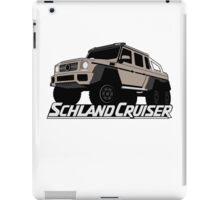 Schlandcruiser iPad Case/Skin