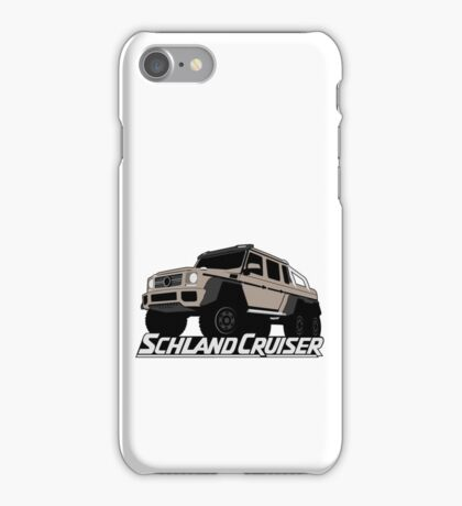 Schlandcruiser iPhone Case/Skin