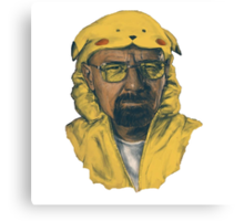 Breaking bad Pokemon outfit Canvas Print