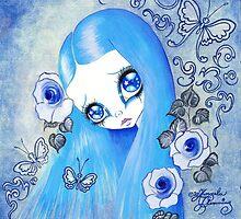 Goth Girl: Christine by TenshiNoYume