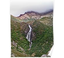 Queenstown Waterfall Poster