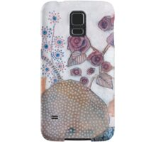 Poppies and roses Samsung Galaxy Case/Skin