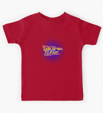 Skip to the End - Back to the Future Kids Tee