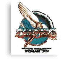 Bee Gees North America Tour 1979 Canvas Print