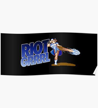 Riot grrrl Poster