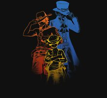 One Piece Brothers - colored lineart Unisex T-Shirt
