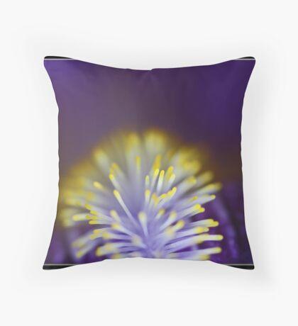 Glow Worm Throw Pillow