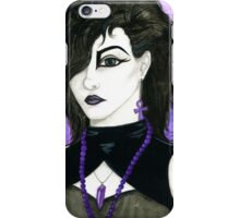 Leonora - 80s Goth iPhone Case/Skin