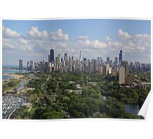 Chicago in summer Poster