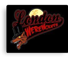 London Wolves Canvas Print