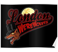 London Wolves Poster