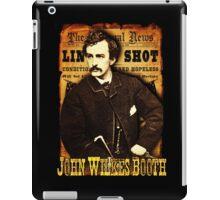 John Wilkes Booth American Assassins Design iPad Case/Skin
