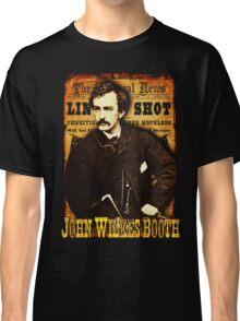 John Wilkes Booth American Assassins Design Classic T-Shirt