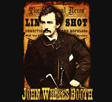 John Wilkes Booth American Assassins Design Unisex T-Shirt