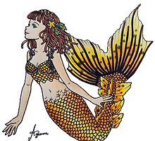 Raina Mermaid by AzeemInshan