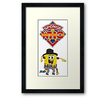 Sponge Who Framed Print