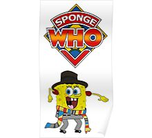 Sponge Who Poster