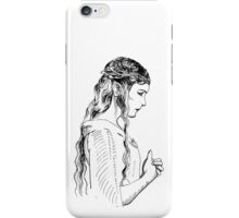Galadriel, most beautiful of all the house of Finwe.  iPhone Case/Skin