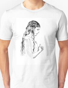 Galadriel, most beautiful of all the house of Finwe.  T-Shirt