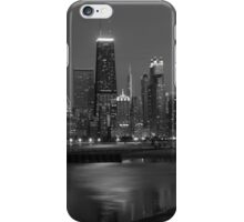 Chicago at night iPhone Case/Skin