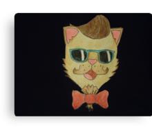 Classy Cat Canvas Print