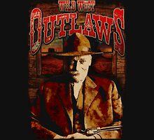 Wild West Outlaws Cowboy Design Unisex T-Shirt