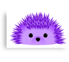 Redgy, the Hedgehog Canvas Print