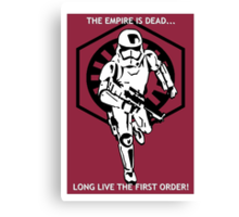 Long live the First Order! Canvas Print