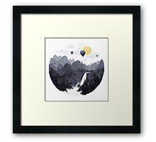 Roundscape II Framed Print