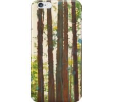 Hiking with the dogs iPhone Case/Skin