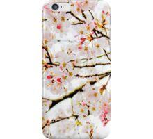 Cherry Blossom Leggings iPhone Case/Skin