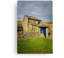 Muker Cottage Canvas Print