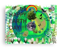 Happy Earth Day! Canvas Print