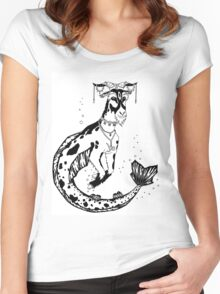 Capricorn Women's Fitted Scoop T-Shirt