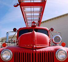 fire truck, manzanar by karen peacock