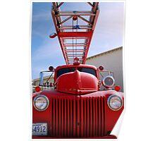 fire truck, manzanar Poster