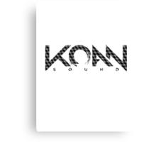 KOAN Sound Pattern Canvas Print