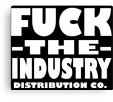 FTI DIST Co logo Canvas Print
