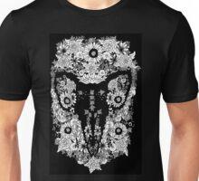 Goat's skull in Flowers Unisex T-Shirt