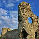 Pevensey Castle by NeilAlderney