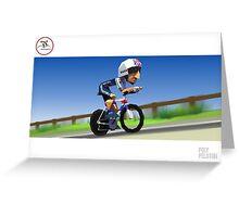 #PolyPeloton : Bradley Wiggins wins gold Greeting Card