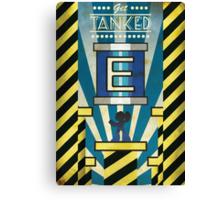 Megaman - Art Deco Style Canvas Print